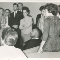 Image of Dr. King at Cornell College