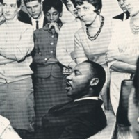 Image of Dr. King at Cornell
