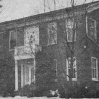 """The Old Brick,"" Hughes home"