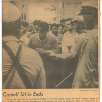 Cornell Sit-In Ends